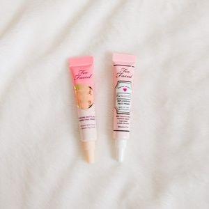 Too Faced Primer Sample Duo - Hangover & Peachy